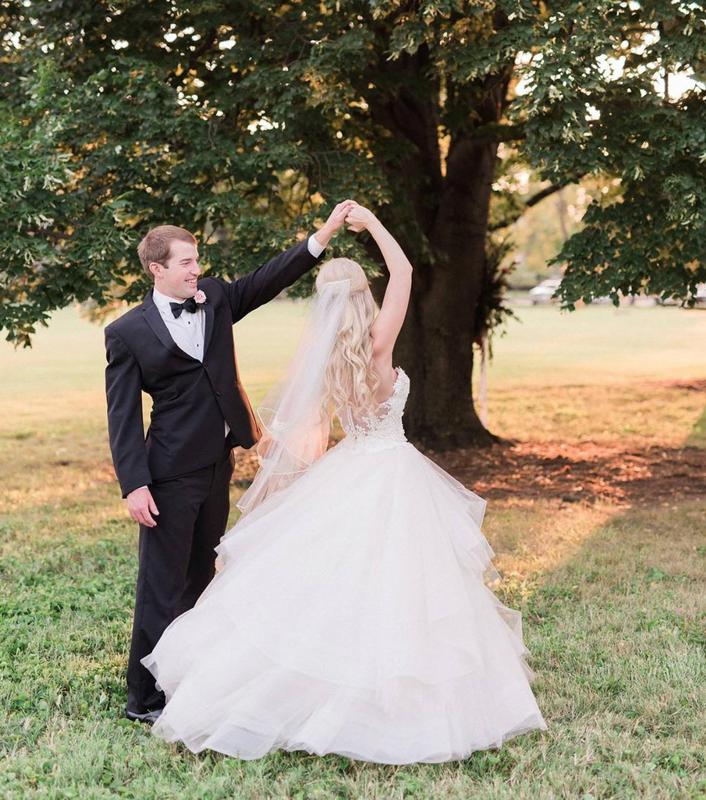 Wedding Gowns Louisville Ky: B-Suite Bride: Anna Photo: Julie Paisley Photography